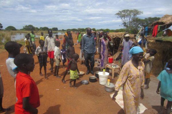 Bisschop Garang zet zich met zijn stichting Christ Mission to the World in voor het herstel van Greater Aweil